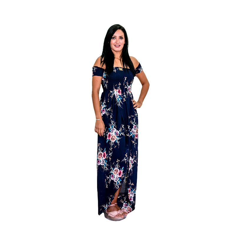 فستان صيفي طويل
