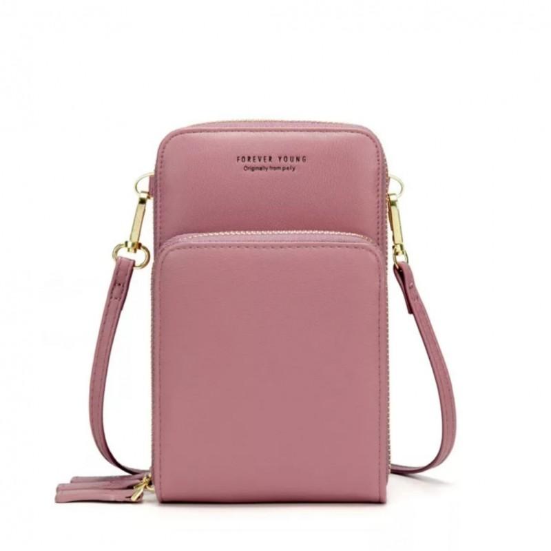 حقيبة كتف صغيرة ملونة للنساء